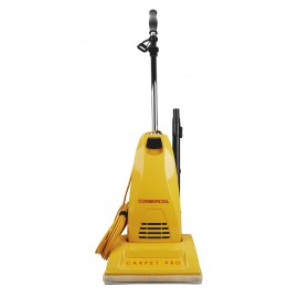 """Carpet Pro Commercial Upright Vacuum - 10 A - 40' cord - 12"""" (30,8 cm) Cleaning Width - Metal Handle - VACCPU4T"""