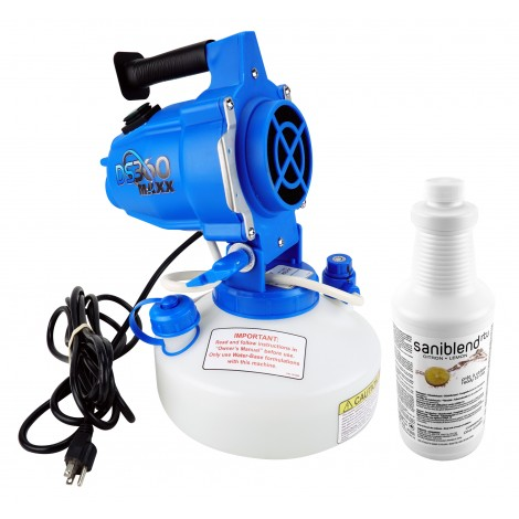 Electrostatic Sprayer - With Cleaner ECO710 - 33.08 oz Tank Capacity - Adjustable Flow Rate - For use against coronavirus (COVID-19)