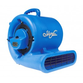 "Blower / Fan / Floor Dryer - Johnny Vac - Fan Diameter 9.5"" (24 cm) - 3 Speeds - with Handle - Integrated Electrical Inlet - Blue"