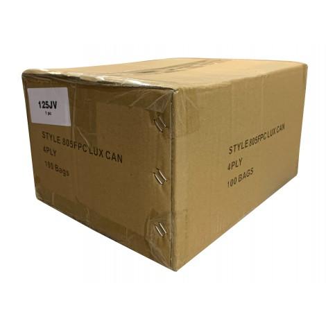 Sac en papier pour aspirateur Electrolux avec réservoir - style C AirPlus - boîte de 100 sacs - en vrac - 805FPC*