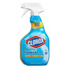 Nettoyant moussant à l'eau de Javel - Clorox - 887 ml (30 oz) - Produits à utiliser contre le coronavirus (COVID-19)
