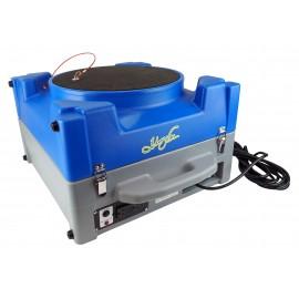 Purificateur d'air industriel - portable - filtration à deux niveaux - 115 volts - 2 A - HEPA - jusqu'à 1000 CFM