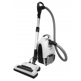 Canister Vacuum Cleaner XV10PLUS - Power Nozzle with Height Adjustment - Digital Control - HEPA Filtration - Set of Brushes
