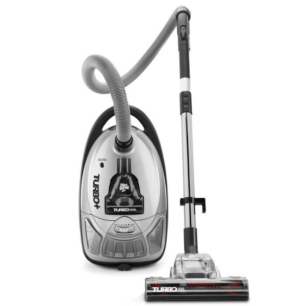 Dirt Devil Turbo Plus Bagged Canister Vacuum