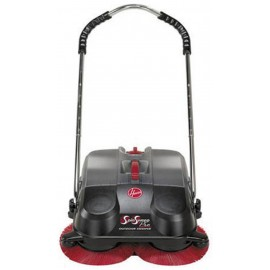 """Hoover Commercial SpinSweep 18"""" Pro Outdoor Sweeper L1405---"""