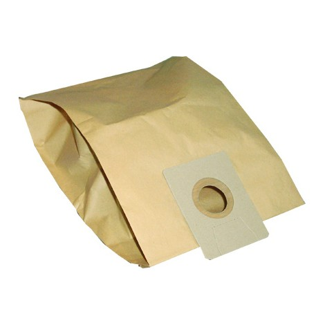 Paper Vacuum Bag for Johnny Vac JV10W - Ghibli AS10, ASL7 et AS8 - Pack of 5 Bags