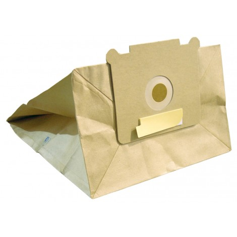 Paper Bag for Johnny Vac Commercial Vacuum JV5 and Ghibli AS5 - Pack of 5 Bags
