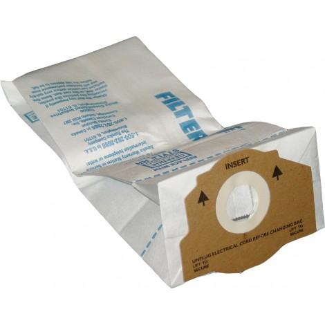 Sac en papier pour aspirateur Kenmore 50651 - paquet de 3 sacs - Envirocare 117SW