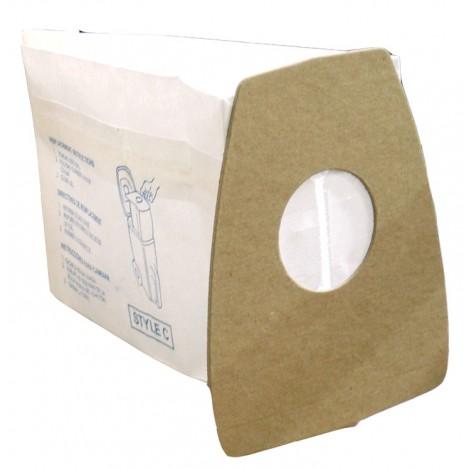 Paper Bag for Eureka Type C Vacuum - Pack of 3 Bags - Envirocare 817SWJV