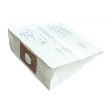 Paper Bag for Eureka Type B and S Canister Vacuum - Pack of 3 Bags + 3 Filters - Envirocare 106SWJV
