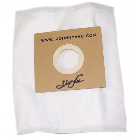 Sac microfiltre HEPA pour aspirateur Johnny Vac modèle JAZZ / JVROSY - paquet de 3 sacs