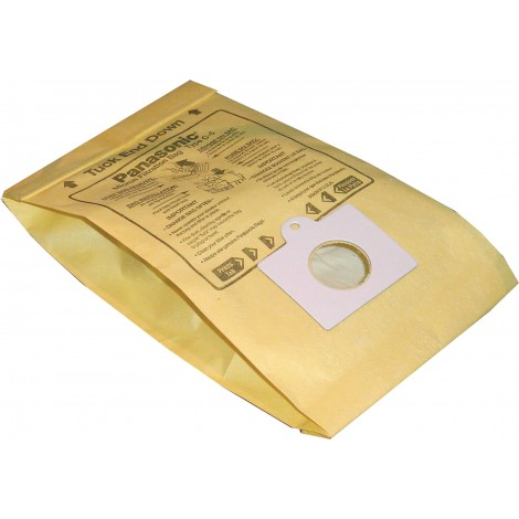 Sac en papier pour aspirateur chariot Panasonic type C5 - paquet de 6 sacs - Serie MCV9600