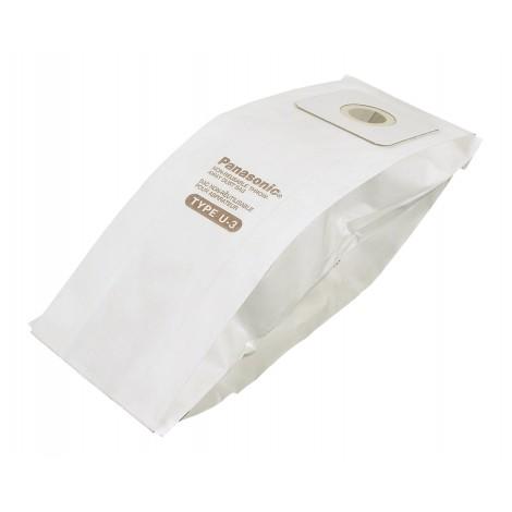 Sac en papier pour aspirateur Panasonic type U-3 - paquet de 6 sacs