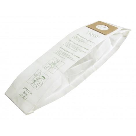 Sac en papier pour aspirateur Dirt Devil type D - paquet de 3 sacs - Envirocare 123SW