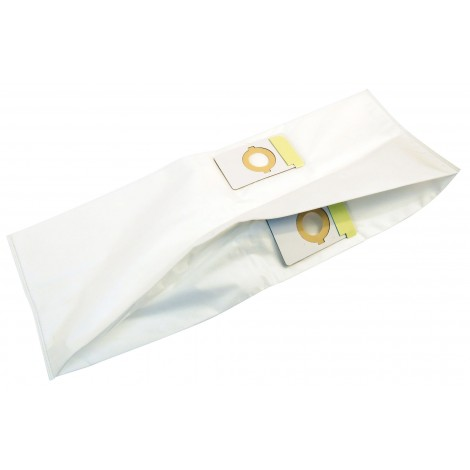 HEPA Microfilter Bag for Beam and Eureka Central Vacuum - Double Openings - Pack of 3 Bags - Envirocare 110057