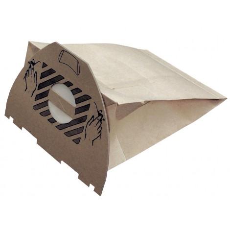 Sac en papier pour aspirateur Euroclean, UZ964 Hip Vac - paquet de 10 sacs + 2 pré-filtres - Envirocare ECC144