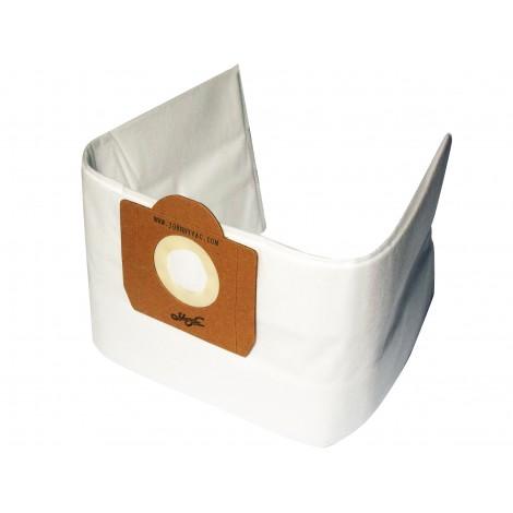 Sac en microfiltre HEPA pour aspirateur Johnny Vac JV125 et JV202 - paquet de 5 sacs