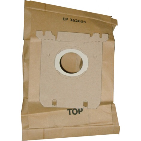Sac en papier pour les aspirateurs suivants: Electrolux S, Eureka OX, Sanitaire S - paquet de 3 sacs - 67710A