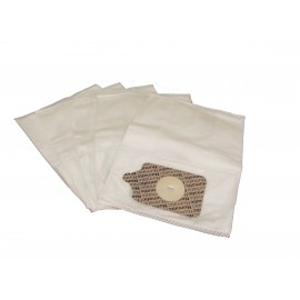 Hepa Microfilter Vacuum Bags - Numatic Nvm1c / Johnny Vac Jv200 - Pkg/5