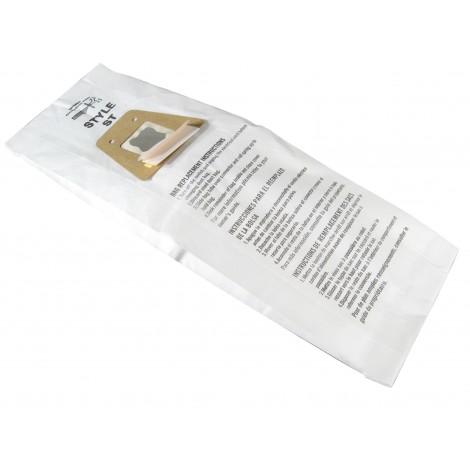 Sac microfiltre pour aspirateur Electrolux et Sanitaire style ST- paquet de 5 sacs - Envirocare 161