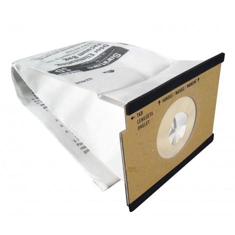 Microfilter Bag for Sanitaire, Duralux, Duralite Type SD Vacuum - Pack of 5 Bags - Envirocare 327