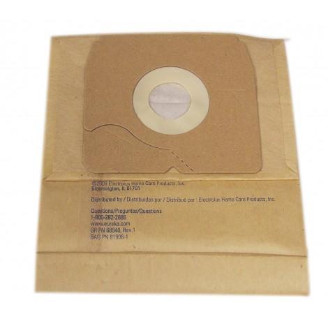 Sac microfiltre pour aspirateur Eureka style CN-4, 900A série - paquet de 3 sacs - Envirocare 318