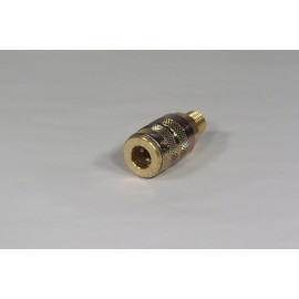 BRASS COUPLER B22 FOR A19 (F)