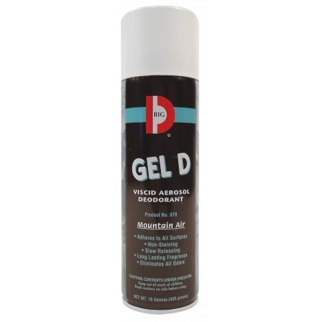 Spraygel Deodorant for Hard Surface -15 oz (425 g) - Big D 070