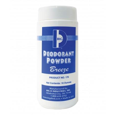 Poudre désodorisante - brise - 16 oz (454 G) - Big D 176