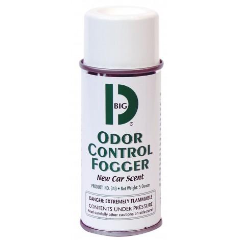 Car Aerosol Deodorant - One Shot or Not - New Car Scent - 5 oz (142 g) - Big D 343