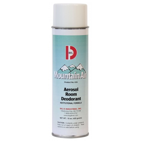 Aerosol Deodorant - Mountain Air - 15 oz (425 g) - Big D 351