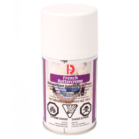 Metered Concentrated Room Deodorant - French Butter Cream - 3400 Sprays - 7 oz (199 g) - Big D 454