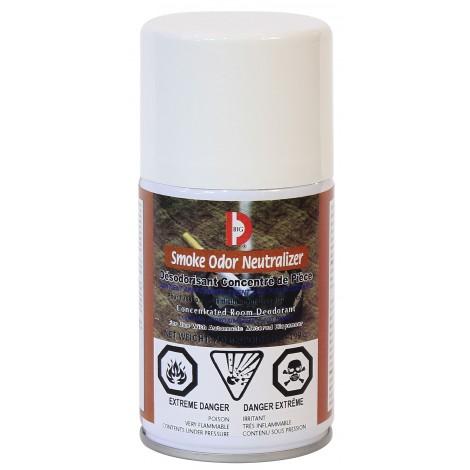 Désodorisant concentré en aérosol - dose mesurée - neutralisant d'odeur de fumée - 3400 jets - 7 oz (199 g) Big D 474