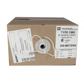 ELECTRIC WIRE - 2 CONDUCTORS 22AWG 24V 300 M