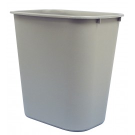 MEDIUM WASTEBASKET - 24 L/6.3 gal - GREY