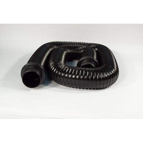 "Hose for Shopvac Vacuums - 6' (1,82 m) - 2 1/2"" (63,5 mm) - Black"