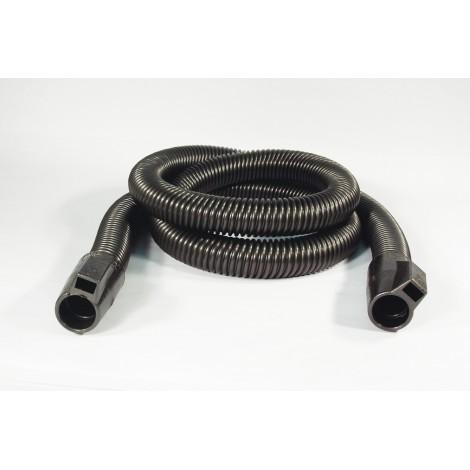 """Boyau électrique pour aspirateur central - 2,43 m (8') - 35 mm (1 3/8"""") dia - argent - anti-écrasement - Plastiflex - SE170114008R"""