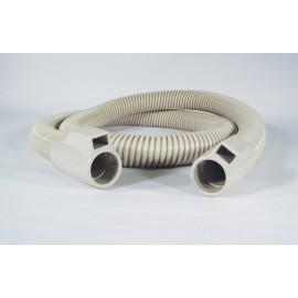 """Boyau électrique - 6' (1,82 m) - 1 3/8"""" (35 mm) dia - beige - anti-écrasement - Plastiflex SE320114006R"""