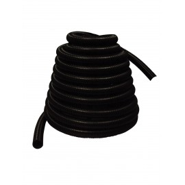 """Hose for Central Vacuum - 60' (18 m) - 1 ¼"""" (32 mm) dia - Black - Anti-Crush"""