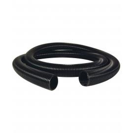 "Hose for Central Vacuum - 50' (15 m) - 1 ½"" (38 mm) dia - Black - Anti-Crush - Top Quality"