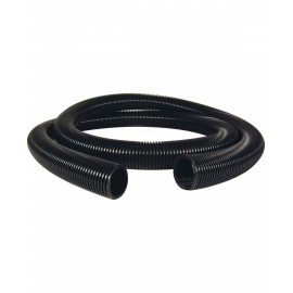VACUUM HOSE (ONLY) - 1½ X 50' CRUSHPROOF - TOP QUALITY - BLACK