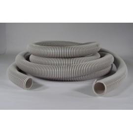 """Boyau pour aspirateur central - 35' (10 m) - 1 1/4"""" (32 mm) dia - gris - anti-écrasement - Econo - Plastiflex RF130114030PB"""