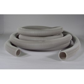 VACUUM HOSE (ONLY) - 1¼X 35' CRUSHPROOF - ECONO - EASY GRIP - GREY