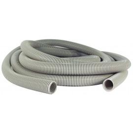 """Boyau pour aspirateur central - 9 m (30') - 32 mm (1 1/4"""") dia - gris - anti-écrasement - Supreme - Plastiflex CZ100114030PB"""