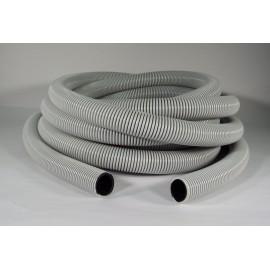 """Hose for Central Vacuum - 50' (15 m) - 1 ¼"""" (32 mm) dia - Grey Black - Anti-Crush - Magnum - Flexhaust 6412508000"""