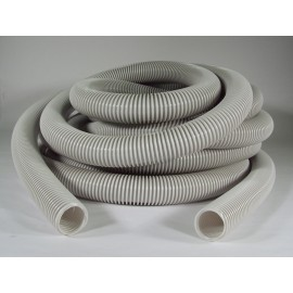 VACUUM HOSE (ONLY) - 1 3/8 X 30' CRUSHPROOF - ECONO - EASY GRIP - GREY