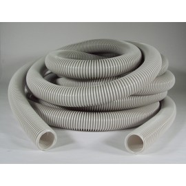 VACUUM HOSE (ONLY) - 1 3/8 X 35' CRUSHPROOF - ECONO - EASY GRIP - GREY