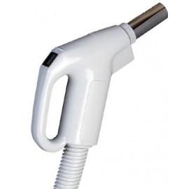 COMPLETE HOSE FOR CENTRAL VAC - 24V 1 3/8 X 30' - GAS PUMP - GREY