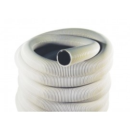 "Boyau pour aspirateur central - 50' (15 m) - 2"" (50 mm) dia - gris - anti-écrasement - Magnum - Plastiflex IN105200050U3PI"
