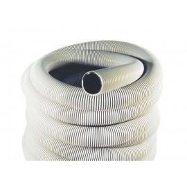 """Hose for Central Vacuum - 50' (15 m) - 2"""" (50 mm) dia - Grey - Anti-Crush - Magnum - Plastiflex IN105200050U3PI"""